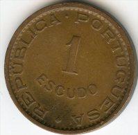 Angola 1 Escudo 1963 KM 76 - Angola
