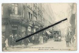 CPA - Rouen - Petite Rue St Lô Et Rue Des Carmes,69 - Maison Laval - Restaurant Du Commerce - Rouen