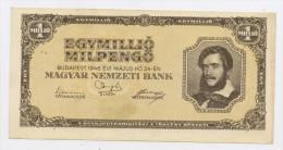 HONGRIE : 1 000 000 PENGO - USÉ - Hungary