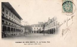 75 PARIS PENSIONNAT DES FRERES MARISTES 48 RUE PERNETY Cour Intérieure Côté Ouest - Autres Monuments, édifices