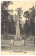Crugey - Le Monument Aux Morts - Guerre 1914-18 ( Cachet Perlé Pont D'Ouche ) - France