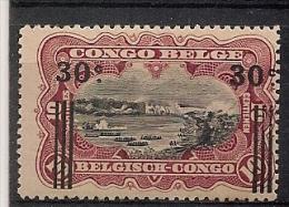 CONGO BELGE 89 Mint Neuf *