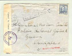 OZ Neuseeland 1942-02-13 Zensurbrief > Genf CH - 1907-1947 Dominion
