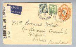 OZ Neuseeland 1945-05-13 Zensurbrief > Canada - 1907-1947 Dominion