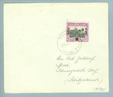 OZ Niue Island 1946-04-29 Brief Nach Schinznach Schweiz - Niue