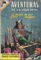 12153 MAGAZINE REVISTA MEXICANAS COMIC AVENTURAS DE LA VIDA REAL LA CORTE DE LOS MILAGROS Nº 159 AÑO 1969 ED EN NOVARO - Bücher, Zeitschriften, Comics