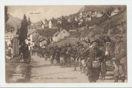 05 Dép.- Les Alpes - 264. La Grave - Manoeuvres Alpines. V. Fournier. édit.- Gap.  Carte Postale Ayant Voyagé. Dos Sépar - France