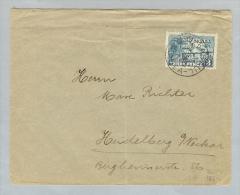 OZ Territory New Guinea 1928-08-07 Brief Rabul>Heidelberg - Papouasie-Nouvelle-Guinée