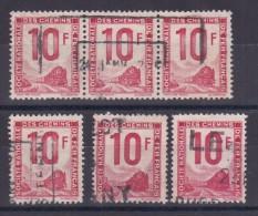 LOT COLIS POSTAUX N° 10 OBL - Collections