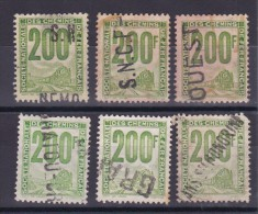 LOT COLIS POSTAUX N° 24 OBL - Collections