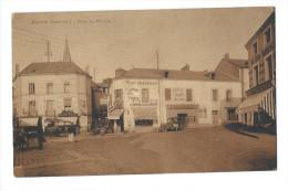 """PORNIC (Loire Atlantique) - Place Du Marchix - Café Renaissance, Café Des Sports, Bijouterie """"Bague Bretonne""""   - Animée - Pornic"""