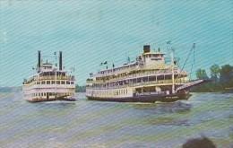 CPA LOUISVILLE- THE KENTUCKY DERBY FESTIVAL, STEAMER SHIPS RACING - Louisville