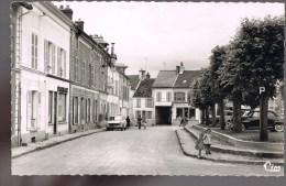 JOUY - Sur - MORIN . Place De L'Eglise . - France