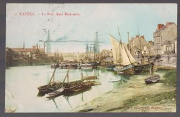 NANTES . Le Port . Quai Monconsu . - Nantes