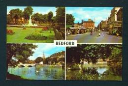 ENGLAND  -  Bedford  Multi View  Unused Postcard As Scan - Bedford