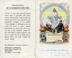 Santino Depliant OPERA DEL REDENTORE - OTTIMO L19 - Religione & Esoterismo