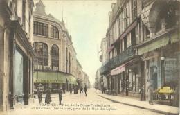 Roanne Rue De La Sous Prefecture Et Nouveau Carrefour Pris De La Rue Du Lycee - Roanne