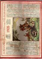 Almanach Des Postes Et Des Télégraphes 1935 - Lot Et Garonne - La Chasse Aux Sangliers - Arc En Ciel - Non Classés