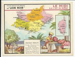 LE MIDI , A L' Est Du Rhône , Edition Spéciale Des PRODUITS Du LION NOIR , N° 2 - Géographie