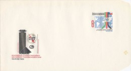 Czechoslovakia / Postal stationery (1982) The Plenipotentiary Conference of the UIT (ITU) Nairobi 1982 (I7654)