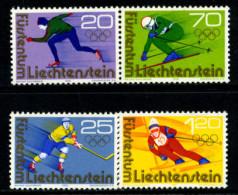 Liechtenstein 1976 / Winter Olympics Innsbruck MNH Juegos Olimpicos Invierno / 0378 - Invierno 1976: Innsbruck