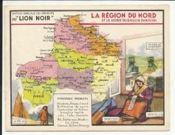 LA REGION Du NORD & Le NORD Du BASSIN PARISIEN , Edition Spéciale Des PRODUITS Du LION NOIR - Géographie