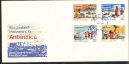 Neuseeland  Mi.Nr.   889 -  892    FDC - FDC
