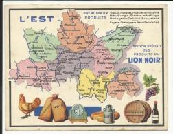 L' EST , Edition Spéciale Des PRODUITS Du LION NOIR - Géographie