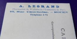 Rouen Pharmacie Legrand 46 Rue Cauchoise - Fete Foraine Un Coin Du Manege - Des Cochons - Rouen
