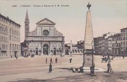 Italy Firenze Chiesa e Piazza di S M Novella