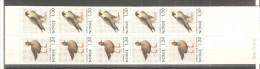 Carnet Nº C783  Noruega - Birds