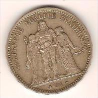 5 Francs Hercule - France