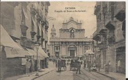 carte postale ancienne de sicile CATANIA
