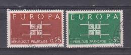 FRANCE / 1963 / Y&T N° 1396/1397 : Europa (2 TP) - Choisi - Cachet Rond - Frankreich