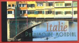 ONU - NAZIONI UNITE GINEVRA LIBRETTO FDC USATO - 2002 - UNESCO World Heritage Italy Italia - 4,40 Fr. - Michel NT-GE MH7 - Carnets