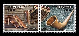 Switzerland 2014 Mih. 2349/50 Europa-Cept. Musical Instruments MNH ** - Nuovi
