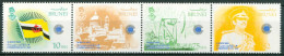 1983 Brunei Giornata Del Commonwealth Set MNH** Piegato Courbé Ul9 - Brunei (1984-...)