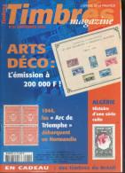 Timbres Magazine 2002 N°  27 : Algerie , Les Arc De Triomphe , Art Déco , - Magazines