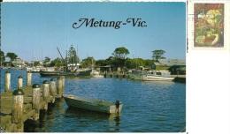 AUSTRALIA  GIPPSLAND  METUNG  Ships Bateaux  Nice Stamp - Gippsland