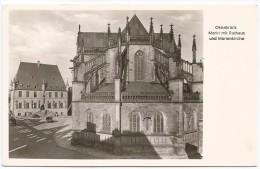 I3254 Osnabruck - Markt Mit Rathaus Und Marienkirche / Viaggiata 1952 - Annullo Targa Pubblicitaria - Osnabrueck