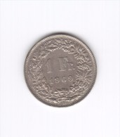 1 Franc 1969  (Id-063) - Suiza