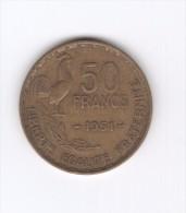 50 Francs 1951 (Id-066) - M. 50 Franchi