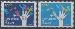 FRANCE - YT N° 4335 - Bleu Foncé Manquant Et Rouge Très Pâle - Neuf ** - MNH - Varieteiten: 2000-09 Postfris