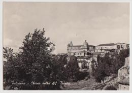 POLISTENA, LA CHIESA DELLA SS TRINITA', VG 1953, B/N, FORMATO 10X15    **//** - Reggio Calabria