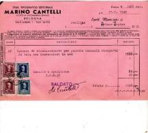 1949 BOLOGNA STABILIMENTO TIPOGRAFICO - Italia