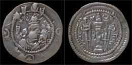Sasanian Kingdom Kavad I AR Drachm - Greche