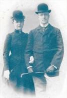 CPA DOS SIMPLE De 1901 - Reine WILHELMINE Et Prince Henri Des Pays Bas  - ENCH33 - - Pays-Bas