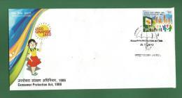 INDIA 2012 Inde Indien - CONSUMER PROTECTION ACT 1986 - FDC MNH ** - Jago Grahak Jago - As Scan - FDC