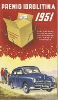 J-IDROLITINA -PREMIO IDROLITINA 1951-DEPILANT CONCORSO - Publicités
