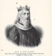 JEAN II Dit LE BON - Roi Né En 1319 DCD En 1364 - ENCH33 - - Historical Famous People